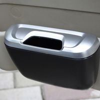 Urbanroad Universal Mini Auto Rubbish Dustbin Trash Can Garbage Dust Box Storage Case