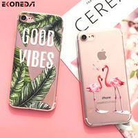 EKONEDA Silicone Case For iPhone 7 7Plus 6 6S 6Plus 5 5S SE Soft TPU Cover For iPhone
