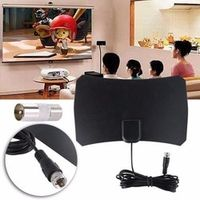 BYGD US Plug Mini Digital HDTV Freeview Indoor Outdoor Antenna For DTMB ATSC ISDB-T