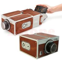 SIV Portable Cardboard Smartphone 2.0 / Assembled Phone Projector Cinema