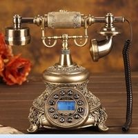 Fashion vintage old fashioned telephone Handsfree/blue Backlit/Caller ID