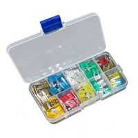 GGEERPOELE 120pcs 1 Box mini Auto Automotive Car Boat Truck Blade Fuse Assortment 5A