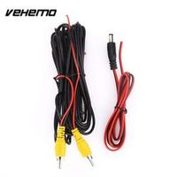 VEHEMO 6M Car RCA Reverse Rear View Parking Camera with Monitor DVD Video Trigger
