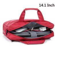 Brinch Brand 14.1inch laptop shoulder bag Woman Man Business handbag pink purple notebook bag  for macbook hp sony lenovo