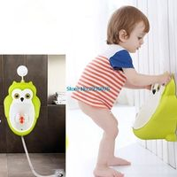 Portable Children Potty Toilet Training Kids Urinal Boys Pee Trainer Bathroom With Pipes MY5_30
