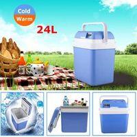 KROAK 12V Electric Cooler Warmer Portable Mini Fridge Refrigerator Car Boat Travel