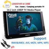 LEADSTAR LD-1088 10.2 inch Led Media Player 1080P HD portable TV Support