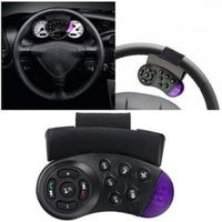 Vehemo Car steering wheel button lights navigation DVD Bluetooth wireless Universal