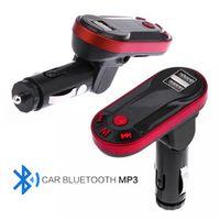 TC KJHY Car Mp3 Player Handsfree USB TF SD Remote Car Kit Music Player Bluetooth