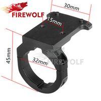 FIRE WOLF Tactical Ruggedized Miniature RMR Red Dot Reflex Sight Mount Base