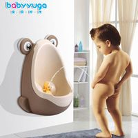 1Pcs Baby Boy's Potty Urinal Standing Toilet Frog Vertical Wall-Mounted Pee Toddler Boy Bathroom Trainer Piss Tube Urinals