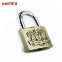 NAIERDI C6 Serie Super B Grade Brass Anti-Theft Rustproof Travel Luggage Lock Padlock