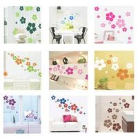1pc Removable beautiful flowers children Wall Stickers
