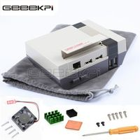 GeeekPi NESPi Case Retroflag Mini NES Style Game Kit with Cooling Fan Heatsinks