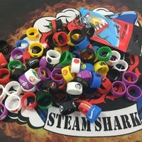 Vapethink Steam Shark 5pcs/lot Original Vapeband 22X12X2CM For SMOK Stick V8 Baby Kit Random Color Design Rubber Vape Band