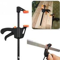 4 inch Plastic Woodworking Bar Clamp Hard Grip Gadget Vise Tool Quick Release Bar Clamp Tool