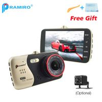 PRAMIRO 4.0 Inch IPS Screen Car DVR Novatek NTK96658 T810 Camera Full HD 1080P Video