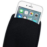 SanDian Black Elastic Soft Flexible for iPhone X 8 7 6S SE Case for iPhone Plus