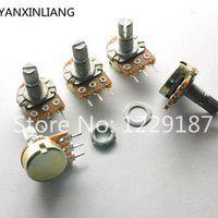YANXINLIANG 10 PCS WH148 B5K Linear Potentiometer 15mm