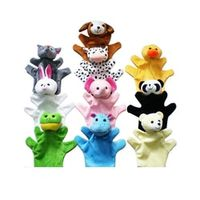 Kacakid Cute Animal Hand Puppets Toys for Kids Children Set
