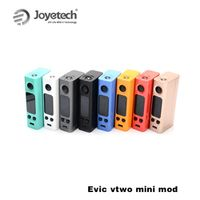 Original Joyetech evic vtwo mini mod 1W-75W Firmware Upgradeable Electronic Cigarettes vape box mod