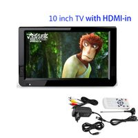 "LEADSTAR HDMI VGA Televisions TV 10.2"" TFT Portable Multimedia Player With USB /SD U"