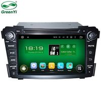 "HD 7"" 1024*600 Capacitive Screen Quad Core Android 5.1 Car DVD GPS For Hyundai i40 2011-2013 With 4G WiFi OBD DVR + Free Map"