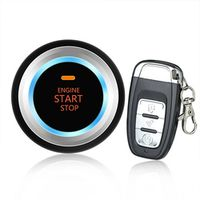433MHZ Car alarm system remote control Audible alarm Remote operation with Sensing mode switching function anti theft