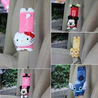 FLYJ cute Cartoon Car Sefety Seat Belt cover Child isofix Seat belt Shoulder Pads