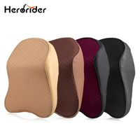 herorider 3D Space Memory Foam Neck Pillow Head Car Headrest Automobile Auto