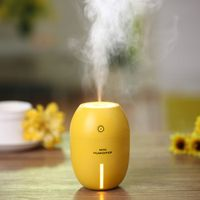 tancredy Home Car Ultrasonic USB Lemon Air Purifier Night Light Atomization Machine