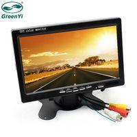 GreenYi CAR HD 800x480 7 Inch Color TFT LCD Screen Rear View Display Monitor