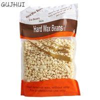 1 Bag Cream Flavor No Strip Depilatory Hot Film Hard Wax Pellet Waxing Bikini Hair Removal Bean J170112