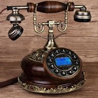 BINYEAE IDS-8520 rotary table telephone antique vintage dial telephone/Caller ID