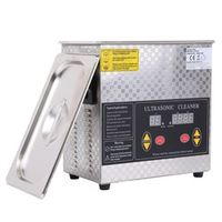 US Local Shipping! Clerance 3L Ultrasonic Cleaner Heating Timer Bath For Jewelry Glasses Circuit Board Cleaning Machine