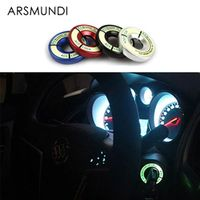 Arsmundi Luminous Ignition Switch Alloy Cover Car Accessories Stickers for Volkswagen