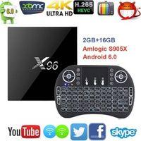 MEVR X96 Android 6.0 TV Box Amlogic S905X Max 2 GB RAM 16 GB ROM Quad Core WIFI HDMI
