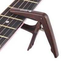 JOYO JCP-01 Light Guitar Capo Quick Change Clamp Key Plastic Steel with Guitar Pick