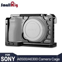 SmallRig Dslr Camera Rig for Sony A6500 Aluminum Alloy Cage With Nato Rail Arca Swiss