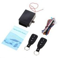 Rectangle Universal Auto Central Kit Door Lock Locking Vehicle Keyless Entry System