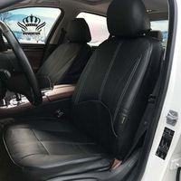 ROWNFUR Luxury PU Leather Auto Universal Car Seat Covers Automotive