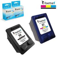 bette Ink Cartridges for HP 56 57 XL hp56 hp57 OfficeJet 5508 5510 5510v 5510xi 5515