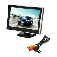 "KKMOON 5"" TFT LCD Parking Assistance Car rear view camera with mirror monitor Backup"
