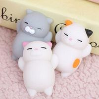 JETTING Dropshipping Cute Mochi Squishy Cat slow rising Squeeze Healing Fun Kawaii