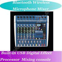 MICWL 6 Channel Bluetooth Mixing Karaoke Console Mixage Consola De Mezcla Mixer