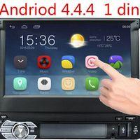"MongWead 7"" Single 1 Din Dash Car Monitor DVD Player Bluetooth Radio Head Unit Stereo"