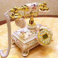 Antique telephone fashion vintage landline telephone home telephone/Caller ID Hands-free/backlit