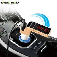 Onever 4 in 1 Wireless Hands Free Bluetooth FM Transmitter Modulator Car Kit