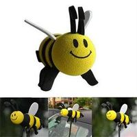 JETTING 2016 Interior Accessories Mini Cute Lovely Bee Antenna Topper 1PC