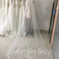 babyonlinedress Real Lace Bridal Veil Edge Wedding Veils